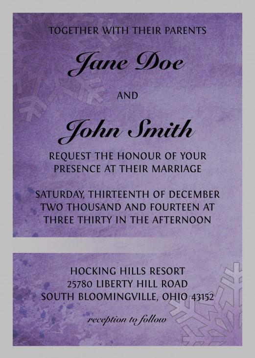 WeddingInvite